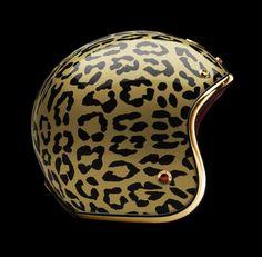 Leopard Helmet
