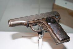 Gavrilo Princip's M1910. Vienna Museum of Military History photo