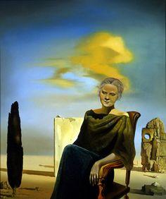 Salvador Dali / Portrait of Isabelle Baker Woolley / 1935 / Oil on canvas
