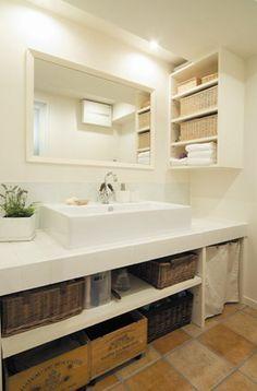 オシャレ★洗面台事例集 の画像|SHUKEN公式ブログ こだわりの住まい作りとは?