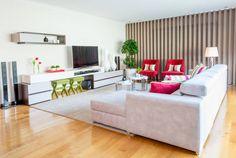 Sala de Estar - Encosta do Douro (De Ângela Pinheiro Home Design)