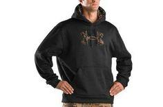 Men's Armour® Fleece Tackle Twill Logo Hoody #poachit