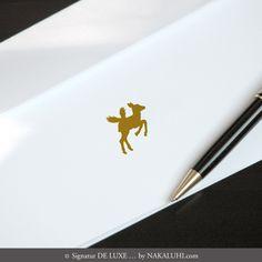 16er Kartenset - personalisiert - 4 Glücksboten - Bambi - DIN Lang Klappkarten - 43,00 Euro  www.nakaluhi.com #karten #design #glücksboten #bambi #identity