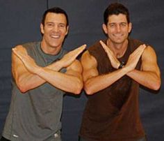 """""""Paul Ryan has just SIX per cent body fat thanks to extreme fitness regime."""" Whatever. He's a total math geek. The only things Ryan has going for him are brains, brawn, being a family man, hunter & sportsman ... It's a poor comparison to VP Biden or """"mom jeans"""" Obama.     I CANNOT WAIT FOR VP DEBATE."""