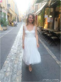 amis à Aix en Provence dernièrement et je portais cette jolie robe ...