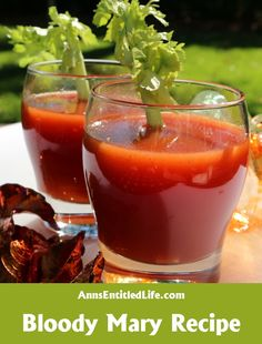 Bloody Mary Recipe;  Breakfast, lunch or dinner, the classic Bloody Mary Recipe made with vodka, tomato, lemon juice and just a splash of zest and spice is perfect anytime of day!