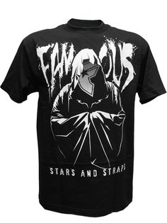 Famous stars & Straps Robes Men's T-shirt Black/White Top Streetwear Brands, Streetwear Online, Famous Stars And Straps, Black White, Hip Hop Outfits, Hip Hop Fashion, Urban Outfits, Mom And Dad, Style Guides