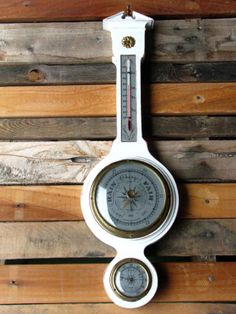 Thermometer Humidity Barometer Vintage by BlackberryMemories, $75.00