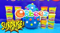 ORBEEZ GIANT EGG Play Doh Surprise Opening 50 + Surprise Toys Video Giga...