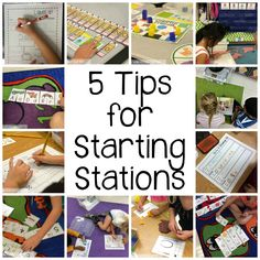 5 tips for starting stations