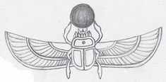 Animals For > Ancient Egyptian Scarab Beetle Tattoo
