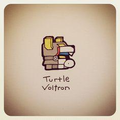 Turtle Voltron #turtleadayjune - @turtlewayne- #webstagram