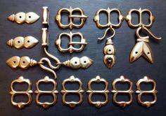 Bronze Rapier Hanger/Belt Fittings