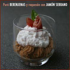 Puré de berenjenas y requesón con jamón serrano | Recetas Fáciles de Cocina: A mi lo que me gusta es cocinar