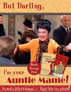 "Rosalind Russell Publicity Still For ""Auntie Mame""... LOVE this movie and book!!!"