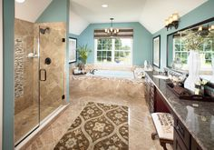 Toll Brothers - Langley Master Bathroom