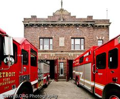 Detroit Fire Department  | Shared by LION