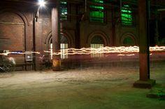 'Fackellauf'+von+Michaela+Rau+bei+artflakes.com+als+Poster+oder+Kunstdruck+$16.63