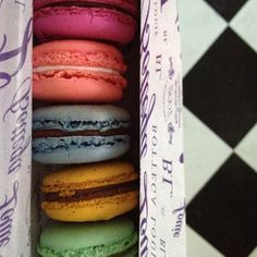 Bottega Louie macaroons (the earl grey was amazing) http://www.digunderrocks.com