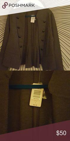b66c2d777d8 Torrid military jacket Gray Torrid military jacket Torrid Jackets   Coats  Blazers Military Jacket