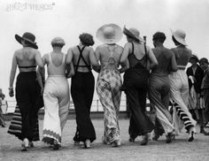 1930s beach and lounging pyjamas…how I love thee : Swing Fashionista