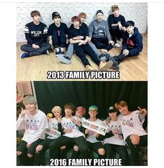 BTS family picture