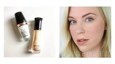 Elcie Cosmetics Micro Silque Foundation & Pearl Radiance Primer   DEMO & REVIEW - YouTube