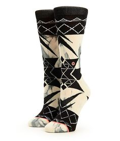 Conquer the style game in absolute comfort and style with these cotton blended crew socks that feature a springy elastic arch support and a tie dye print with a jacquard knit overlay.