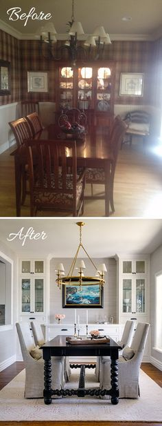 Easy And Budget-Friendly Dining Room Makeover Ideas | Bokhyllor ...