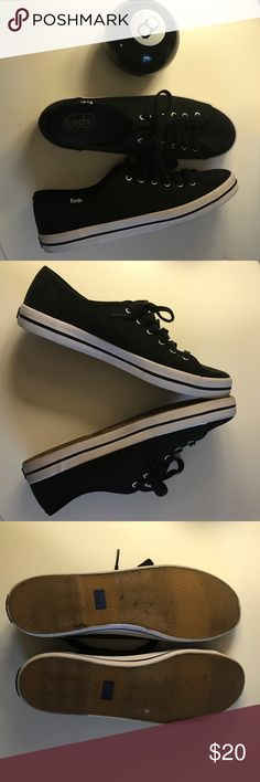 Black Keds Size 9 Never been worn black Keds. Size 9 Keds Shoes Sneakers