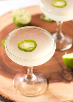 Spicy Jalapeno Gimlet | jalapeno simple syrup, vodka, lime juice ...
