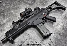 (Heckler and Koch G36C) guns, weapons, self defense, protection, carbine, AR-15, 2nd amendment, America, firearms, ammunition, bullets, catridge, munitions #guns #weapons