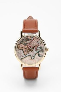 Map watch. $34.00, Urban Outfitters.