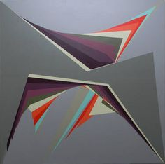 "Adriana Ablin; Painting, ""gravitatorio 1"""