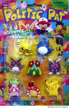These Pokémon just have sensible powers.   20 Hilarious And Ridiculous Knock-Off Toys