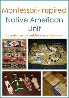 Roundup of Montessori-inspired Native American activities and resources