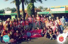 #turquesaF16 en #Disney con #enjoy15! Vos también podés ser parte de la #bandamáslinda de todo Disney!