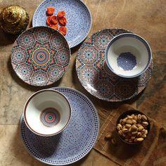 Bohemian Decor: Fez Moroccan Dinnerware