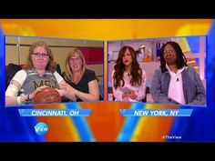 Lauren Hill, still fighting DIPG, takes awareness campaign to 'The View' | NCAA Basketball | Sporting News