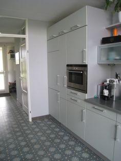 Tegelfloor - Breda - tegels - cementtegels in keuken.