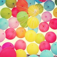 Not a birthday without balloons!