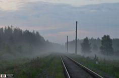 [изображение] на перегоне Костоусово - Адуй, Свердловская обл. — Golden planet