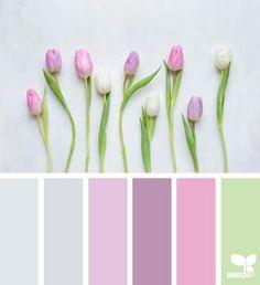 Spring Tones via @designseeds