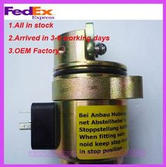 50.00$  Watch here - http://ali1ye.shopchina.info/1/go.php?t=669997913 - BF4M1011F Fuel shut off solenoid 04272733 loader 863/873 0427 2733 50.00$ #bestbuy