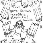 page 16 samson and delilah - Samson Delilah Coloring Pages