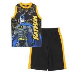 Look at this Black Batman Tank & Shorts - Boys by Penguin Kids Wear Batman Baby Clothes, Baby Batman, Disney Baby Clothes, Superman, Fashion Kids, Toddler Boy Fashion, Modern Baby Clothes, Cool Baby Clothes, Batman Outfits