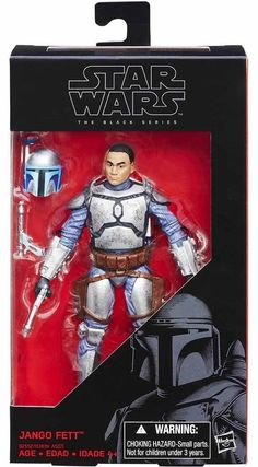 Star Wars Jango Fett The Black Series 6 inch action figure