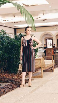 Look: Listras Diferenciadas  para a Semana de Moda