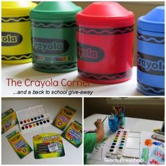 The Crayola Corner : A simple and fun back to school give-away!