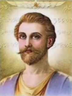 "Ascended Master Saint Germain Also known as: God of Freedom ""Uncle Sam"" Chohan of the Seventh Ray Lord of the Seventh Ray Hierarch of the Aquarian Age read more. Saint Germain, Reiki, Merlin The Magician, Spiritual Transformation, Nova Era, Age Of Aquarius, Ascended Masters, Spiritual Teachers, Ancient Mysteries"